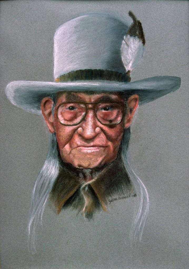 Indian Pastel Portrait